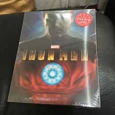 Iron Man Blu-ray Steelbook w/ Lenticular slipcover #919 | KimchiDVD Korea NEW