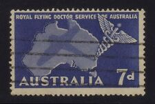 [JSC] 1957 Royal Flying Doctor Service OF Australia old stamp