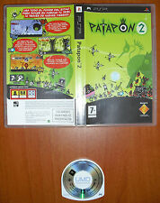 Patapon 2, SONY PlayStation Portable PSP Street PROMOTIONAL PROMO NOT FOR RESALE