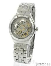 New Swatch Classic Irony Body And Soul Automatic Steel Watch 37mm YAS100G $190