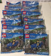 Lego 30349 City Sports Car Set Polybag Lot of 14 New Sealed Party Favors