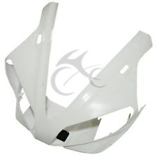 Unpainted Upper Front Fairing Cowl Nose Head For YAMAHA YZF 1000 R1 2000-2001 00