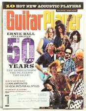 GUITAR PLAYER MAGAZINE ERNIE BALL 50 YEARS SLASH CLAPTON PAGE GUY PETRUCCI