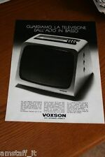 BI1=1972=VOXSON TV HI-FI AUTORADIO STEREO 8=PUBBLICITA'=ADVERTISING=WERBUNG=