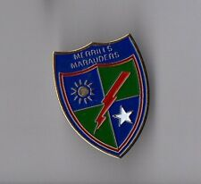 Pin's armée / Insigne Merrill's Marauders  - 5307th Composite Unit (provisional)