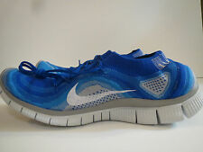 NEW NIKE 15 Free Flyknit + Running Shoes Game Royal Blue 615805-414 NWOB