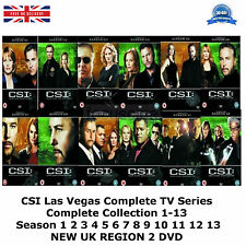 CSI Las Vegas Complete Series 1-13 77 Discs Part 1 2 3 4 5 6 7 8 9 10 11  New R2