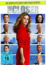THE CLOSER : COMPLETE SEASON 7 (Kyra Sedgewick)  -  DVD - PAL Region 2 - New