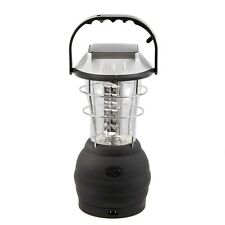 36 LED Hand Crank Solar Lantern Bright Rechargeable Outdoor Camping Lights