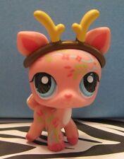 Littlest Pet Shop #1356 Pink Postcard Pet Deer w/ Antlers