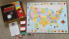 Where in the USA is Carmen Sandiego Mystery Geography Board Game Educational