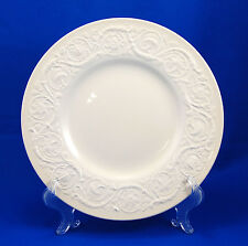 Wedgwood PATRICIAN – PLAIN (OLD) Salad Plate 8.375 in. Off White Embossed