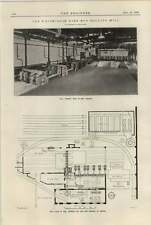 1920 Whitecross Wire Rod Rolling Mill Plan And Interior