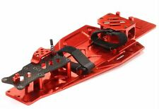 Integy Performance Billet Aluminum Chassis Kit Traxxas Rustler Bandit VXL Red