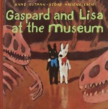 Gaspard and Lisa at the Museum (Gaspard and Lisa Books)-ExLibrary