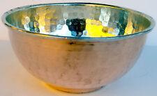 Original Handmade Copper Shaving Bowl, Reg Size Mug / Cup