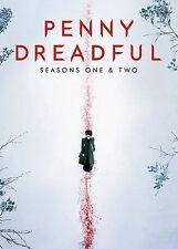Penny Dreadful - Saisons 1 - 2 DVD Série Complète Une Two New/Scellé 1st & 2nd