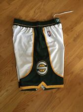 Brand New Official Reebok Seattle Supersonics Shorts Size 36 Home