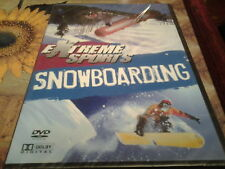 dvd extreme sports snowboarding new and sealed half pipe competitions freestyle