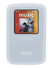 !!!White Silicone Skin Case for Sandisk Sansa Clip Zip MP3 Player Cover Holder!!