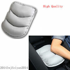 Durable SUV Vehicle Center Armrest Console Pad Cushion Box Soft Mat Cover Grey