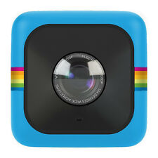Polaroid Cube Plus Action Kamera blau WiFi Full HD 8 Megapixel NEU