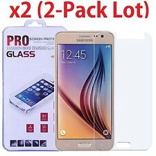 2-Pack Premium Tempered Glass Screen Protector Film For Samsung Galaxy J3 V