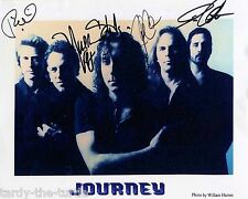 Journey 8 x 10 Autograph Reprint  Don't Stop Believin  Faithfully  Open Arms
