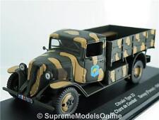 CITROEN type 23 1940 armée camion modèle France 1 / 43e taille ALTAYA type Y0675J ^ * ^