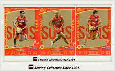 2012 AFL Teamcoach Trading Cards Prize Team set Gold Coast (3)