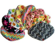 Set Of 8 Pcs Cloth Panty Liner w/Wings-Reusable,Leakproof & washable.