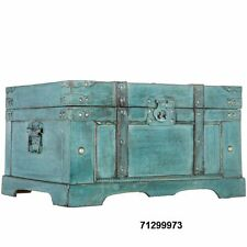Rustic Blue Storage Chest