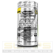MuscleTech PLATINUM MULTIVITAMIN Amino Acid 90 Caps VITAMIN MINERAL ANTIOXIDANT