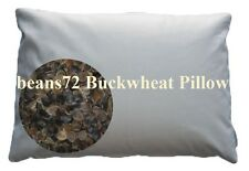 "Organic Buckwheat Pillow - King Size 20"" x 36"""