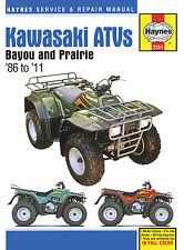 Haynes Manual 2351-Kawasaki Bayou & Prairie atv/quads: klf220/250/300, kvf300