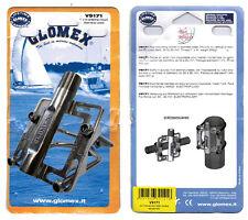 Glomex V 9171 Antennen Halterung Edelstahl für Mast Rohre Durchmesser 30 - 80 mm