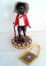10.5 Inch Statue Baby Elegua w/ Corn & Coins Figurine Santeria Yoruba Santeria