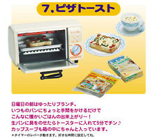 Re-ment Is Dinner Ready?! #7 Pizza Toast Toaster Oven 1:6 Miniature US SELLER