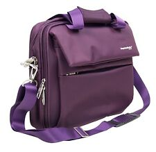 15 Zoll Laptoptasche Tasche Gepäck Handgepäck Violett von HAUPTSTADTKOFFER