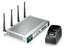 NEU ZyXEL UAG2100 Hotspot Router Acces Point mit Printer SP350E ähnl. UAG 4100