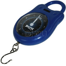 FISHING WEIGHT SCALES KG/LBS CALIBRATED LUGGAGE ANALOG MECHANICAL SCALE 5KG
