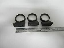 OPTICAL MICROSCOPE LOT 3 EA LENSES ZEISS PARTS OPTICS  BIN#L9-13