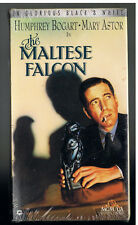 The Maltese Falcon 1941 Film/VHS Tape-B&W/Humphrey Bogart/Mary Astor/1992 Sealed