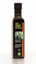 Olio vergine di semi di canapa sativa Italiano 250ml Italian virgin hemp oil