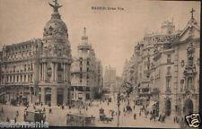 ANTIGUA POSTAL MADRID . GRAN VIA . HAUSER Y MENET .MIRA MAS EN MI TIENDA CDCP762