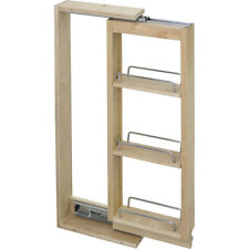 """Kitchen Cabinet-Wall Cabinet Filler Pullout- 3"""" x 11-1/8"""" x 42""""-Item # WFPO342"""