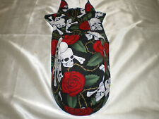 Harley Toms Skull & Rose Scuba Diving Doo Rag Headwrap Do Rag  Skullcap Bandana