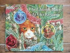 VINTAGE 1981 Graham Oakley The Church Mice At Christmas Picturemacs Paperback