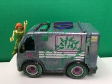 Imaginext DC Super Friends Custom Gotham City Police Van Poison Ivy Takeover