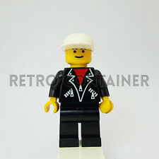 LEGO Minifigures - 1x lea002 - Man - Leather Jacket Town Omino Minifig 2234 6538